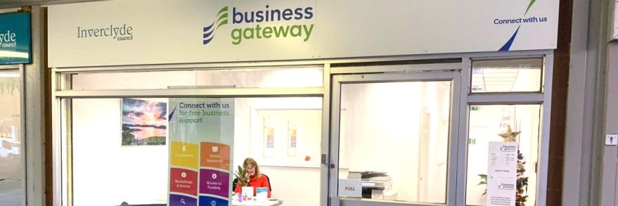 BDA's Business Gateway office, Greenock.