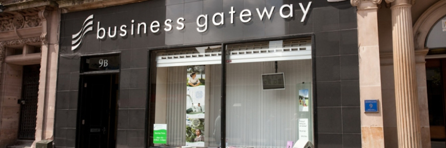 BDA's former Business Gateway office in Paisley town centre.